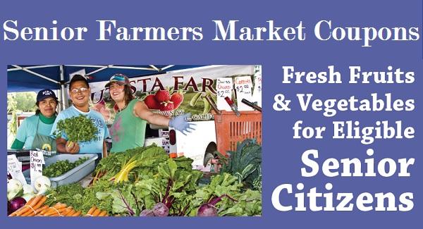 Senior Farmers Market Coupons